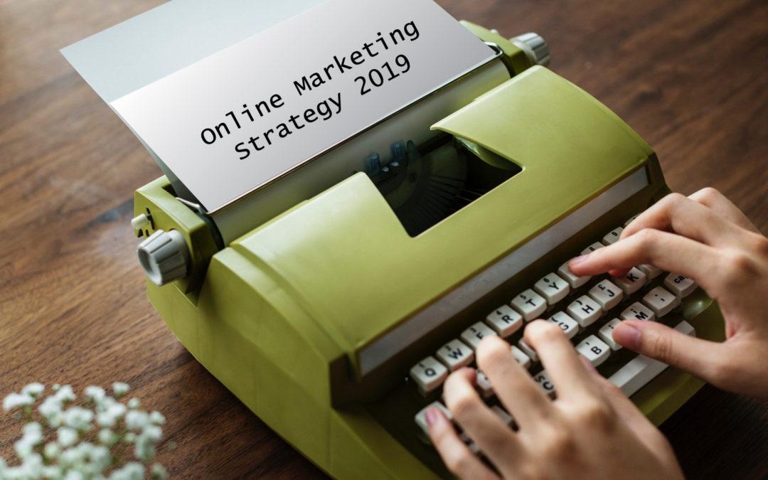 Online Marketing 2019 - Typewriter