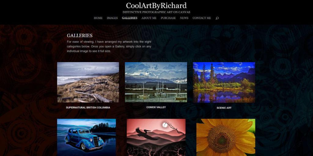 CoolArtbyRichard website